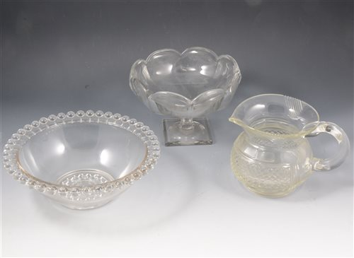Lot 27-Three boxes of assorted glass ware