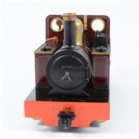 Image for Accucraft Edrig 0-4-0 steam locomotive