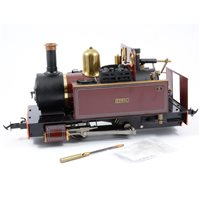 Lot 40-Accucraft Edrig 0-4-0 steam locomotive