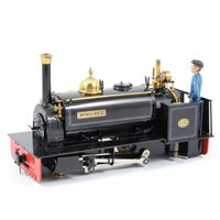 Lot 43-Finescale Engineering 'Port Class' Hunslet MKII 16mm narrow gauge steam locomotive