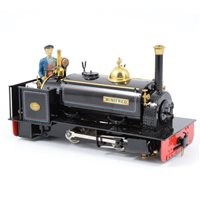 Image for Finescale Engineering 'Port Class' Hunslet MKII 16mm narrow gauge steam locomotive
