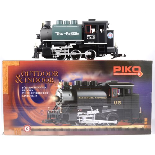 Lot 47-Piko G scale 0-6-0T Saddle Tank locomotive model 38202