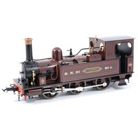 Lot 41-Accucraft G gauge Isle of Man Caledonia locomotive