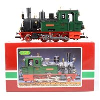 Lot 49-LGB railways G scale Tank steam locomotive 'Spreewald' no.2074