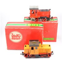 Lot 48-LGB railways G scale Schoema diesel locomotive no.2060H