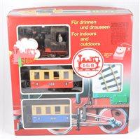 Lot 53-LGB railways G scale passenger starter set no.78392, boxed.