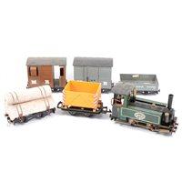 Lot 77-Mamod LS1 live steam locomotive
