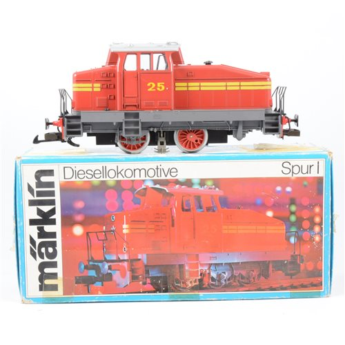 Lot 50-Märklin Germany no.5720 0-6-0 diesel locomotive