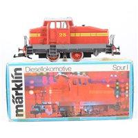 Lot 50-Märklin Germany no.5720 0-6-0 diesel locomotive