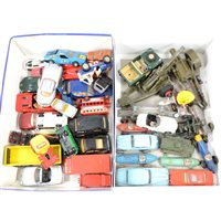 Lot 116-Collection of diecast models, including Dinky and Spot-on.