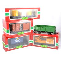 Lot 60 - LGB railways G scale rolling stock