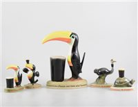 Lot 8-Carltonware Guinness advertising model, tortoise