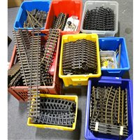 Lot 54-Large quantity of G scale track
