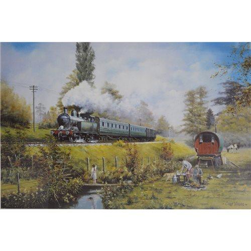 Lot 69-After Chris Woods, signed framed prints
