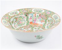 Lot 72-Canton basin, probably late 19th Century