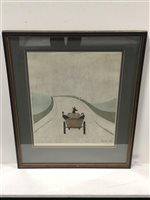 Lot 314-Laurence Stephen Lowry, The Cart, offset lithograph.