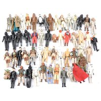 Lot 144-Loose collection of original Star Wars figures by Palitoy