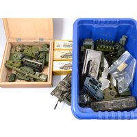 Lot 120-Diecast military models