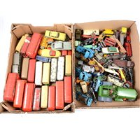 Lot 121-Large quantity of loose playworn diecast models