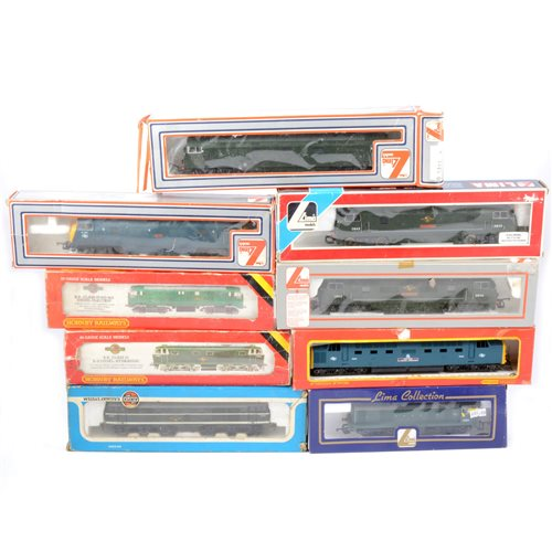 Lot 13-OO gauge railway locomotives