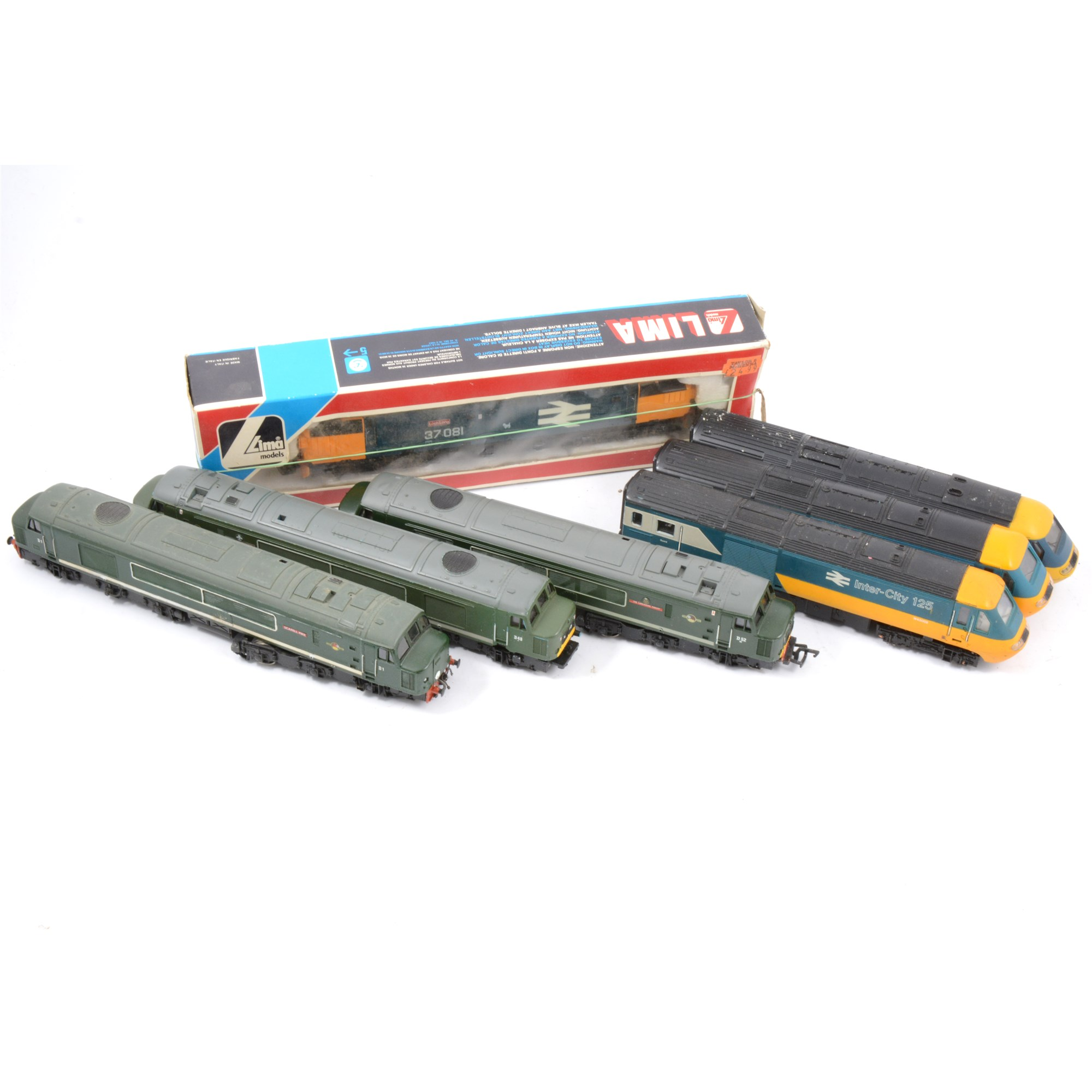 Lima OO Gauge Left Hand Electric Points Track Section