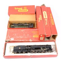Lot 27-Tri-ang and Hornby OO gauge railway locomotives