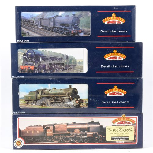 Lot 19-Bachmann OO gauge locomotives