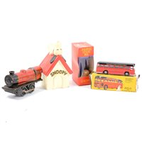 Lot 100-Budgie Toys Motorways Express coach diecast model boxed