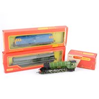 Image for Hornby Tri-ang model railway, mostly good condition, small number of engines.