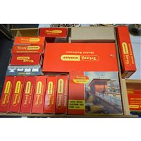 Lot 5-Hornby Tri-ang model railway, mostly good condition, small number of engines.