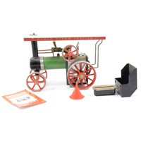 Lot 75-Mamod live steam Showmans engine