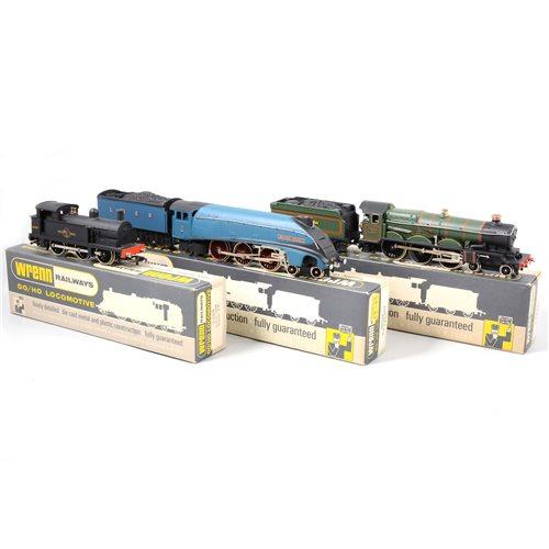 Lot 5-Wrenn Railways OO gauge railway locomotives, (3).