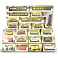 Lot 6-Wrenn railways OO gauge wagons and coaches, all boxed.
