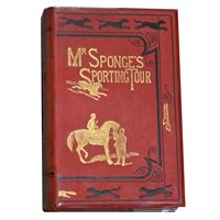 "Lot 78-Six books on hunting pursuits, including ""Mr Sponge's Sporting Tour"", (6)"
