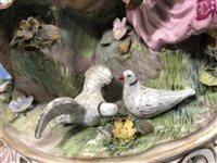 Image for Large Meissen porcelain figural group, after J. J. Kandler.