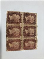 Lot 100-GB stamps: Three Penny Black covers, including one postmarked 4 July 1840
