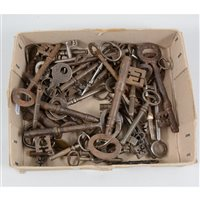 Lot 90-A small quantity of old keys
