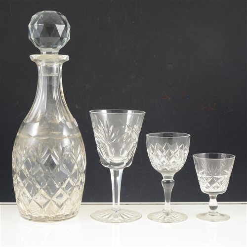 Lot 16-Continental table glass, a mixed collection, (2 boxes).