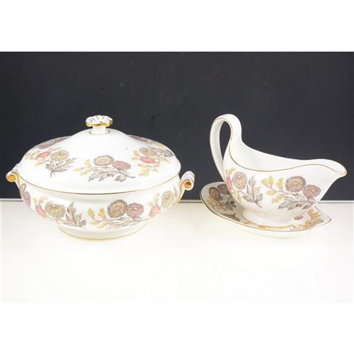 Lot 55-Wedgwood Lichfield pattern dinner service