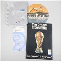 Lot 70-Footballing ephemera, including FIFA Word Cup 2002 material