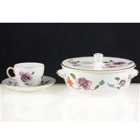 Lot 56-A collection of Royal Worcester Astley pattern oven to table ware.