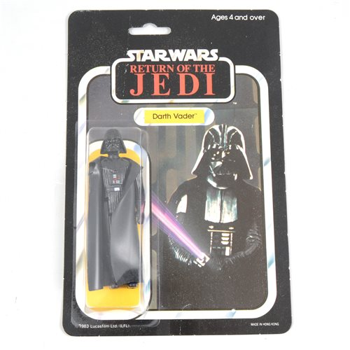 261 - Star Wars figure Darth Vader, Palitoy, sealed in original Return of the Jedi blister pack box, punched 65 back.