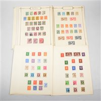 Lot 105-GB stamps: Edward VII - George VI