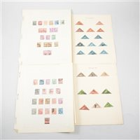 Lot 106-Colonial stamps, Cape of Good Hope: a collection, including 23 triangles
