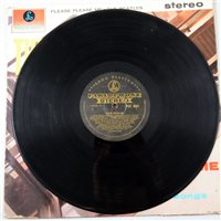 Lot 437-A first stereo pressing of The Beatles Please Please Me LP