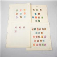 Lot 110-Mauritius Post Office: a small collection of stamps