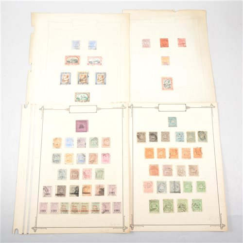 Lot 111-Colonial stamps, British Guiana: a small collection