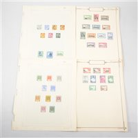 Lot 112-Colonial stamps, St Vincent, St Lucia, Bermuda, Gilbert & Ellice Islands: a small collection, mint