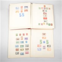 Lot 116-Stamp album: Colonial collection