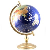 Lot 109-Contemporary globe, by Chris Sellers, height 56cm.